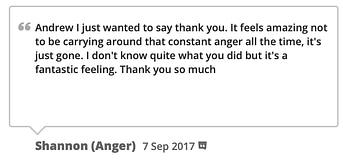 anger management testimonial